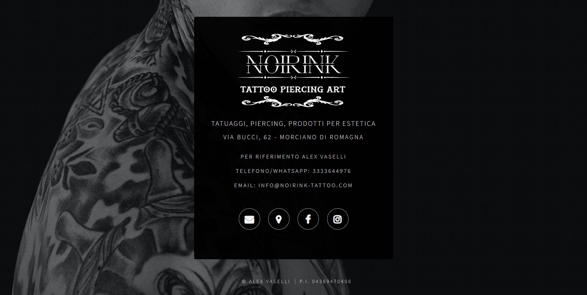 Screenshot-2018-4-6 Noir Ink Tattoo Tatuaggi, Piercing, Prodotti per estetica Morciano di Romagna